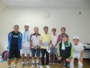 6組 (優勝 柳生栄さん)