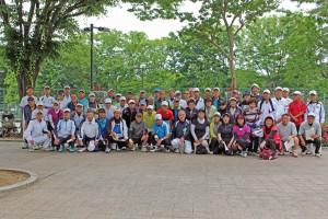 第59回ISTA大会集合写真(洞峰公園TC)
